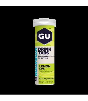 Electrolitos Gu Energy limón lima