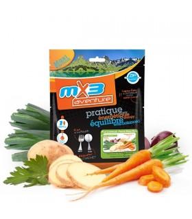Sopa de verduras liofilizada