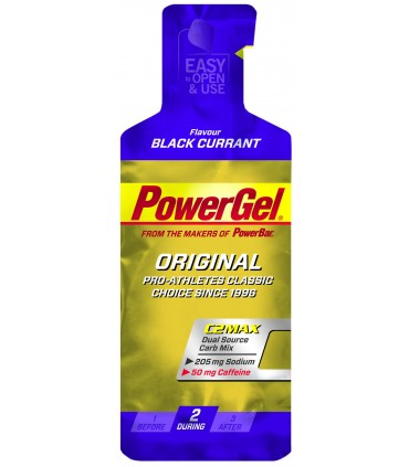 Power gel grosella con cafeína