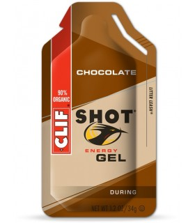 Gel energético de chocolate