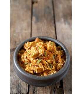 Pollo Dhansak con arroz liofilizado
