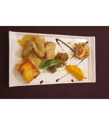 Filete de pato estofado estilo tailandés