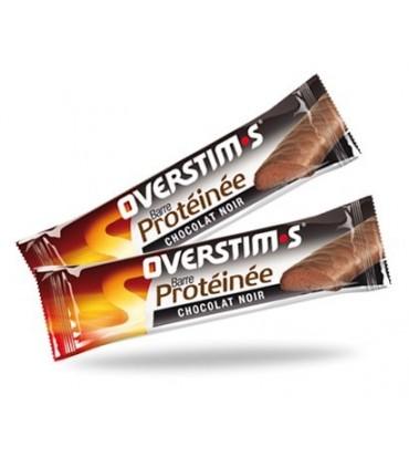 Barrita hiperproteica sabor chocolate negro