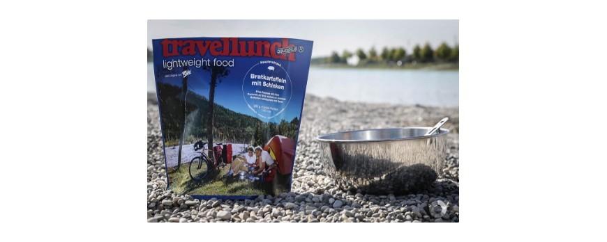 Travellunch, comida ultraligera para actividades al aire libre