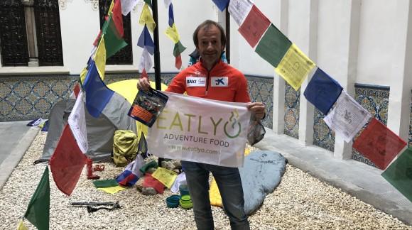 Ferran Latorre escalará el Everest con comida liofilizada de eatlyo.com para conseguir su 14º ocho mil